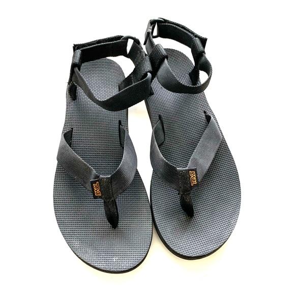 Teva Shoes   Black Strappy Sandals